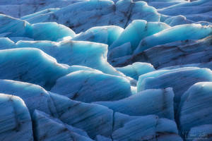 The structures of a glacier
