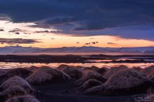 Sunset at Stokksnes by LinsenSchuss