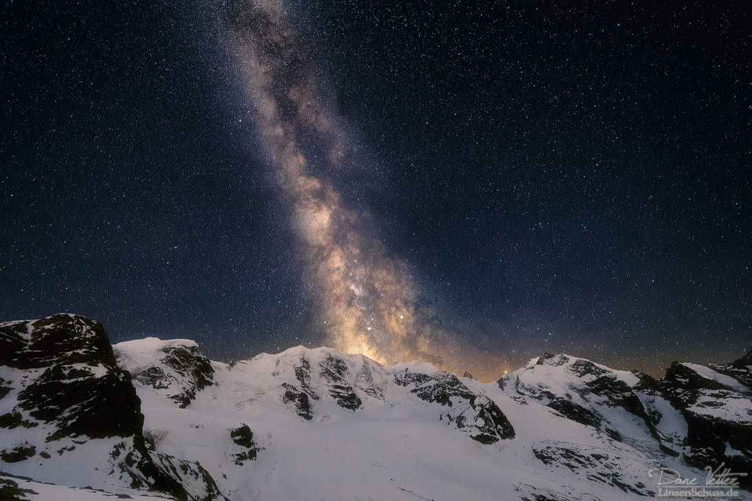 From the mountains to the universe by LinsenSchuss
