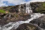 The waterfall at saksun