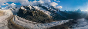 From Monte Rosa to the Matterhorn