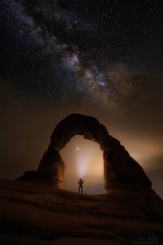 The rock gate to the universe