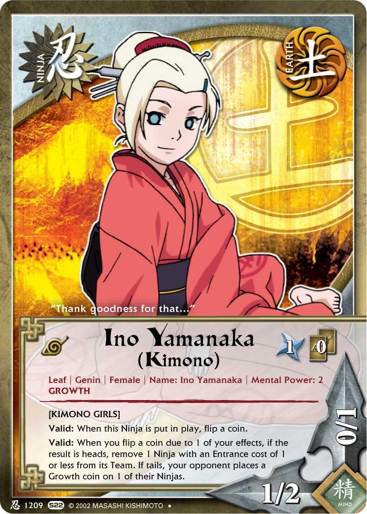 Naruto Kimono Girls Ino by JubiaMaJo on DeviantArt