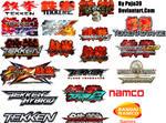 All Tekken Series And Logos
