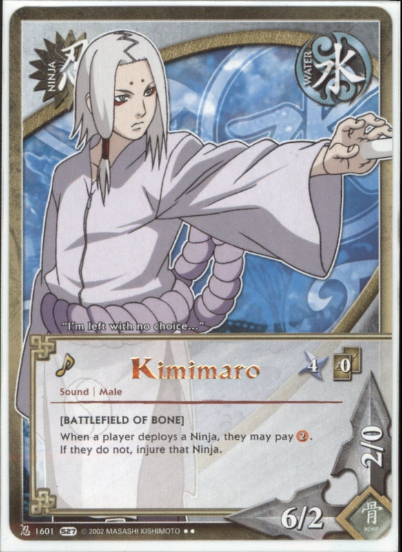 kimimaro tg card by puja39 on deviantart