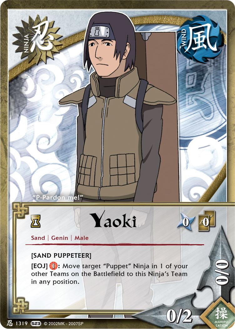 Yaoki TG Card by puja39 on DeviantArt