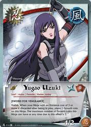 Yugao Uzuki TG Card 2 by puja39