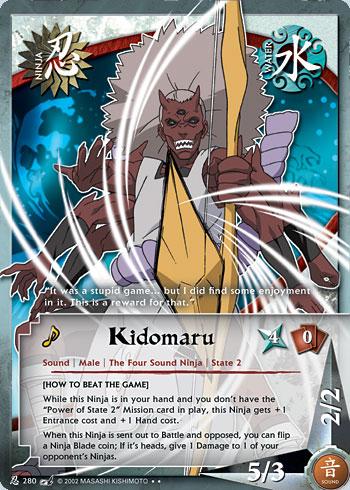 kidomaru tg card 2 by puja39 on deviantart