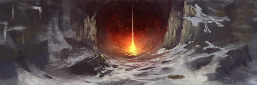 Molten Mineshaft by WestlyLaFleur
