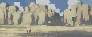 Sun-lit Gorge