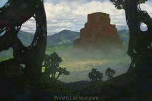Viridian Ziggurat by WestlyLaFleur