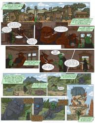 Green Lancer Comic #1 by WestlyLaFleur