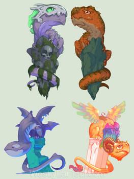 Drakes / Dragons (Adoptables)