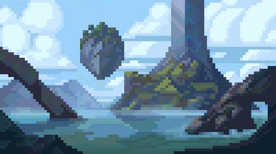 Pixel Lagoon