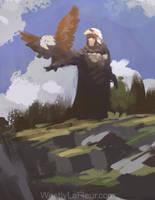 Eagle Warrior Speedie by WestlyLaFleur