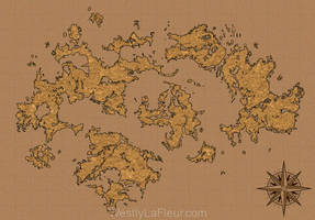 World Map by WestlyLaFleur