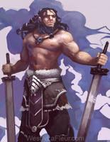 Barbarian (WIP) by WestlyLaFleur