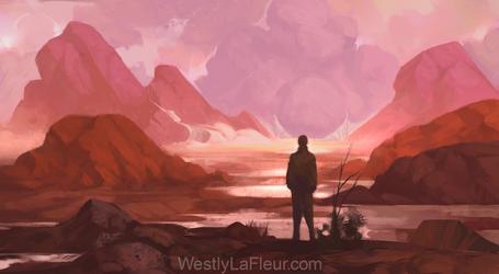 Lingering by WestlyLaFleur
