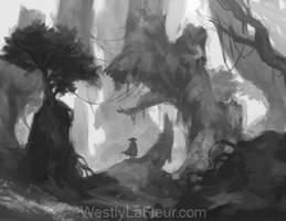 Dense Overgrowth by WestlyLaFleur