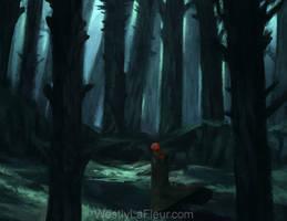 Mistmourn Woods by WestlyLaFleur