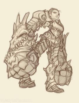 Dragon's Maw Gauntlets