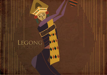 Legong Dance #1