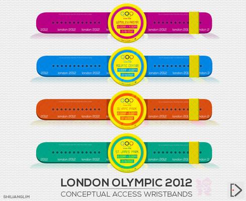 London Olympic 2012 Conceptual Wristband
