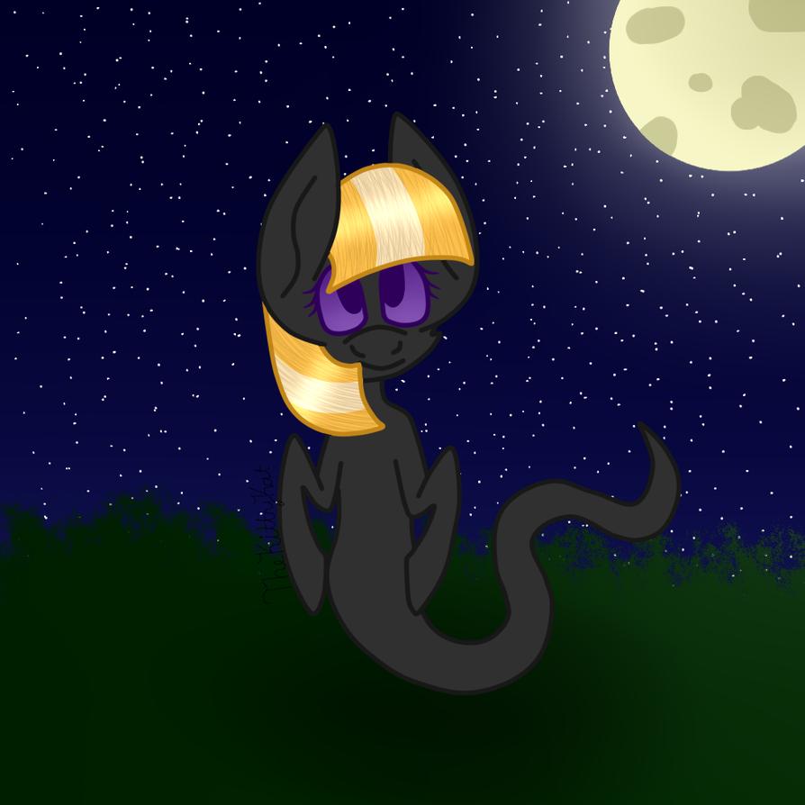 Ghost Pony by TheKittyKatUnion