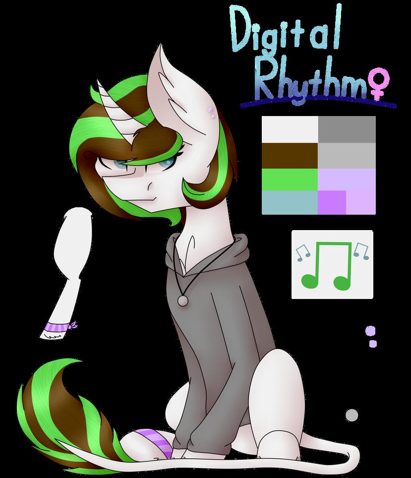 Digital Rhythm Redesign 2 by TheKittyKatUnion