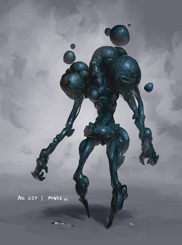 monster no 037 by onehundred monsters on deviantart