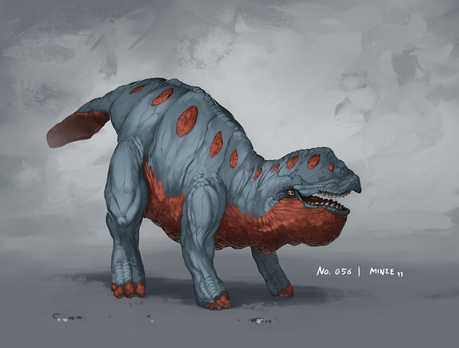 Monster No. 056 by Onehundred-Monsters