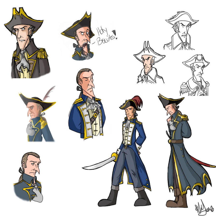 pirate sketch dump of evil by draw ist