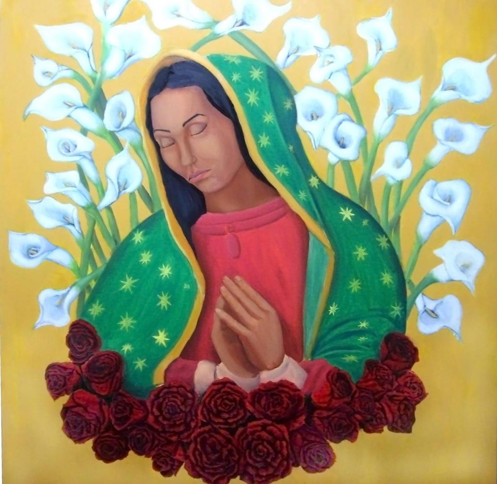 Virgen de Gpe con Alcatraces by EDelAngel