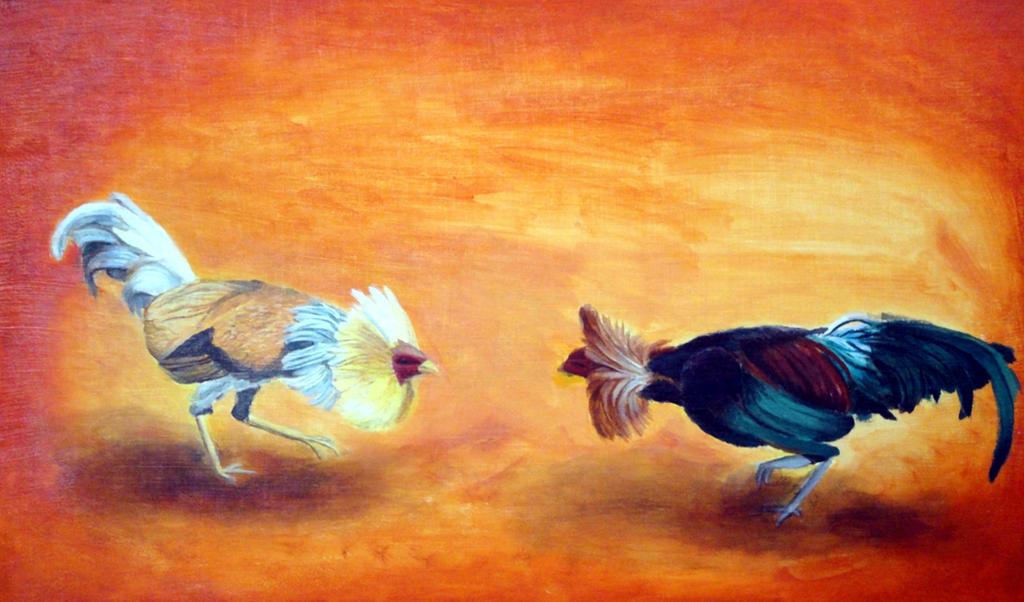 Gallos de Pelea by EDelAngel
