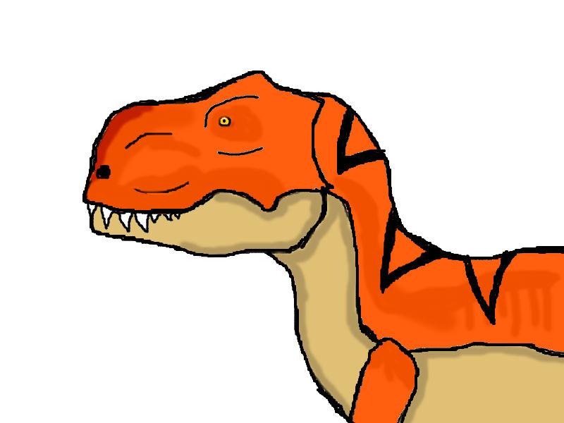 Tyrannosaurus Rex by FatumCorvus