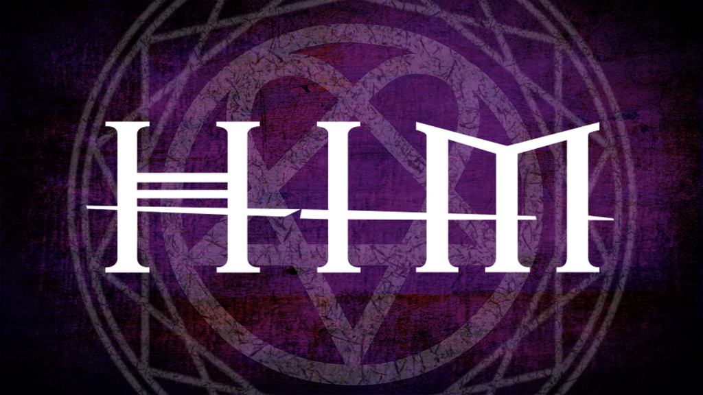 HIM Heartagram Logo Wallpaper by Lumianos