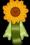 Heartbeat Rosette by BlueFire-Phoenix