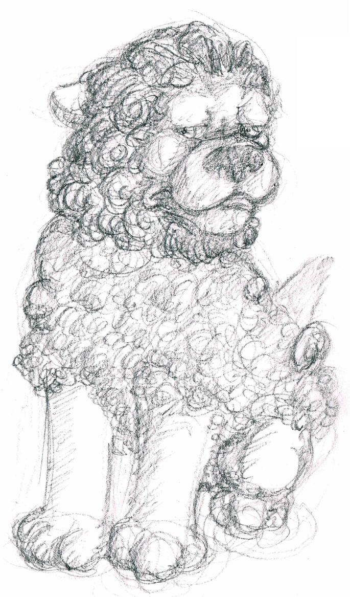 fuu dawg sketch by Ronin-kin