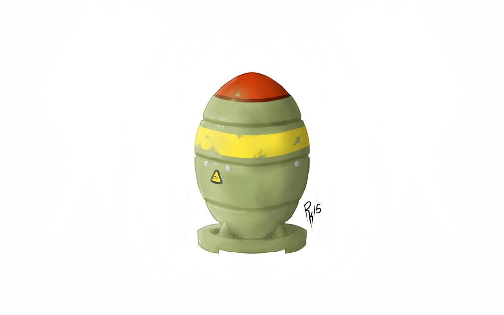 Fallout mini nuke by Ronin-kin