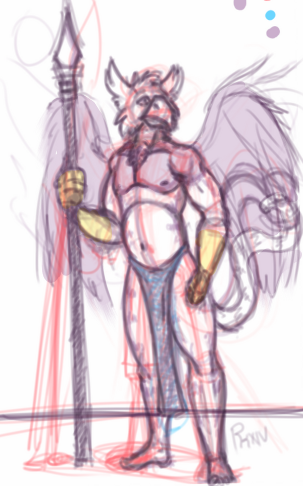 BLADE Griffon sketch by Ronin-kin