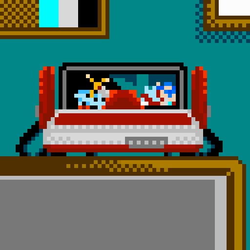 Famicom Fire Emblem cart PIXEL ART by Ronin-kin