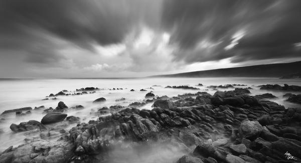 Yallingup Black and White by ryanepstein