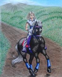 Horsewoman by Avia-tika