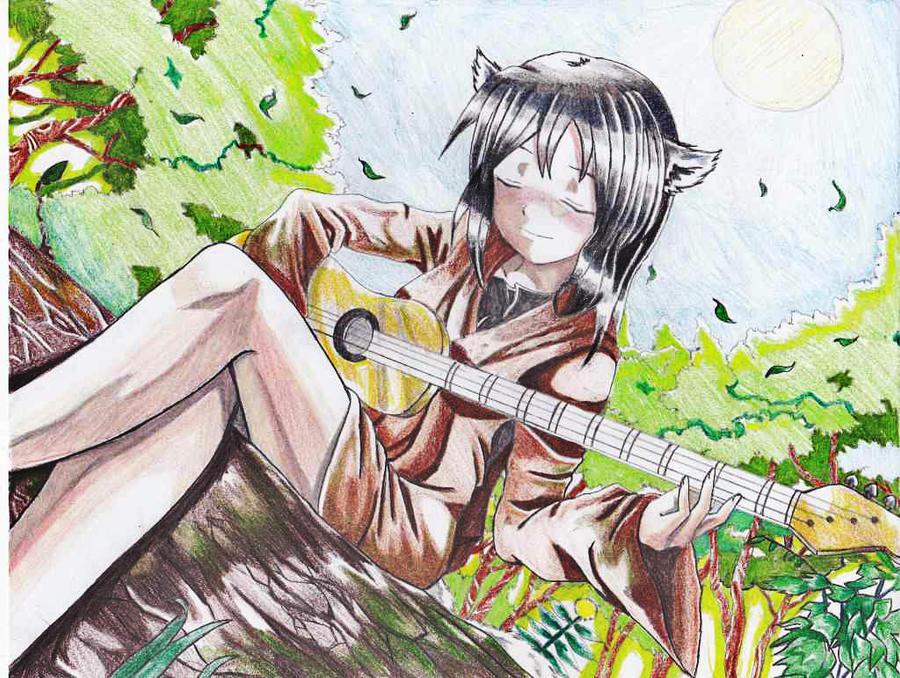 Ookami Hime Rayne by princeofhalcyon