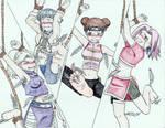 Commission-kunoichi endurance training