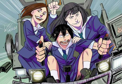 Shibahama's Angels: Full Throttle