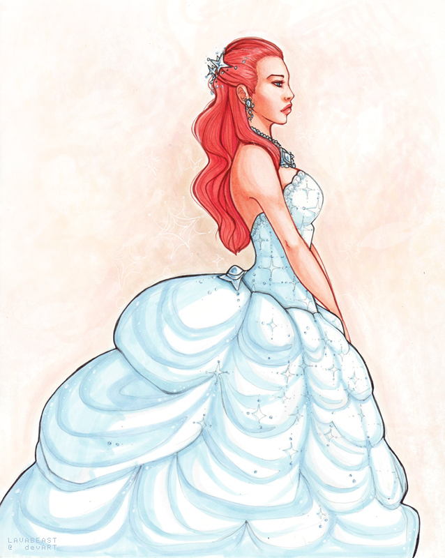 ice queen by Lavabeast