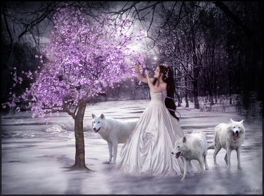 woman and wolf - Page 2 Tree_Of_Hope_by_Iribel