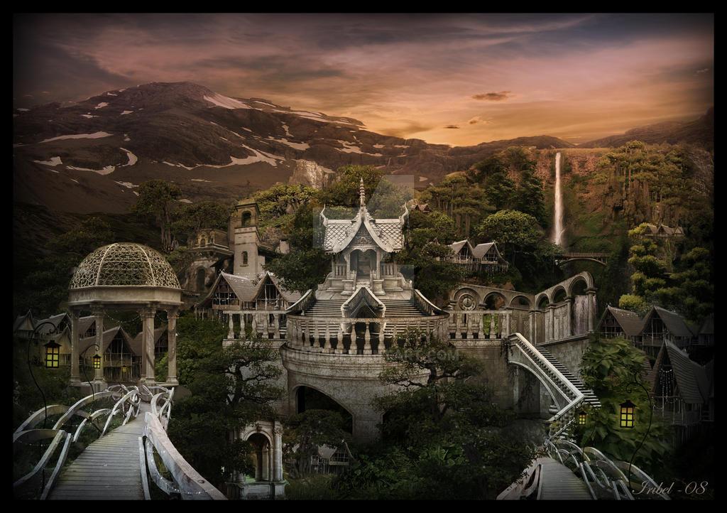 Rivendell by Iribel