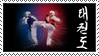 Taekwondo stamp by Iribel